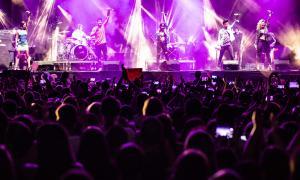 Ana Guerra, Cepeda, Aitana, Roi i Míriam al concert d'OT a Andorra la Vella.