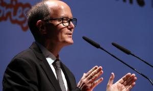 El secretari general de l'AMIC, Josep Riotort, en un acte de l'associació.