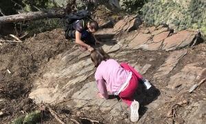 El nou conjunt rupestre, a sobre de Meritxell, va ser descobert a l'abril pel bander Ferran Teixidó.