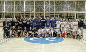 El Champions for Unicef, jugadors de bàsquet per un dia
