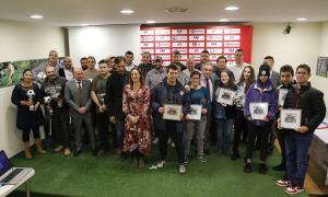 La Nit del Futbol 2018 premia els millors del curs