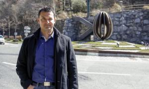 El candidat a cap de Govern de Liberals d'Andorra, Jordi Gallardo.