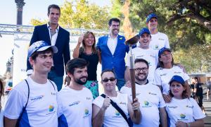 La torxa dels Jocs Special Olympics ja hi és a Barcelona