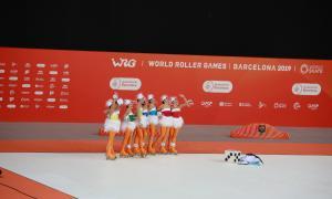 El grup xou acaba 14è als World Roller Games
