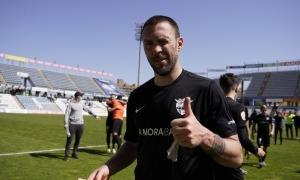 Víctor Casadesús, que encara no es planteja penjar les botes, vol continuar al país i es planteja fitxar per l'Inter Club Escaldes. Foto: FC Andorra