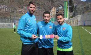Pas enrere de l'FC Andorra