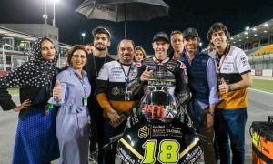 Xavi Cardelús obre el curs amb un 25è lloc a Qatar