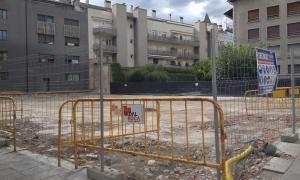 Els terrenys cedits per l'Ajuntament on ha d'anar el nou CAP de la Seu.