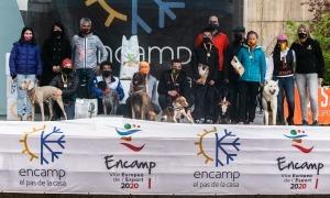 La segona edició de l'OTSO Trail Dog d'Encamp va comptar amb 100 participants. Foto: Comú d'Encamp