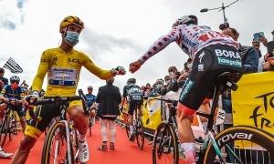 El resident Julian Alaphilippe va deixar ahir de tenir el maillot groc del Tour. Foto: ASO / Charly López