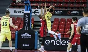 L'escorta del BC MoraBanc, Jeremy Senglin, va anotar 18 punts i va valorar 20 contra el Casademont Saragossa.Foto: ACB Photo / E. Casas