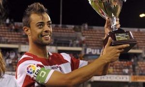 Dani Benítez va destacar amb el Granada. Foto: LFP