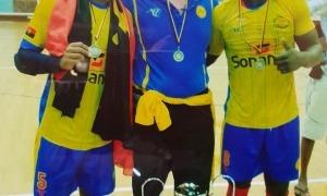 Miquel Umbert, en la seva etapa com a seleccionador d'Angola. Foto: Foto cedida per Miquel Umbert