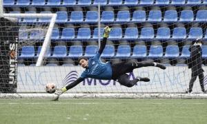 El porter de l'FC Andorra, Nico Ratti. Foto: FC Andorra