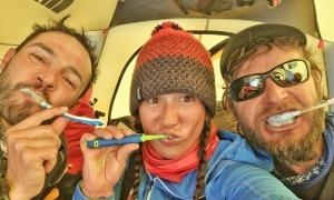 Domi i Stefi, al camp 2. Foto: Facebook Stefi Troguet