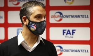 Talin Puyalto tornarà a les banquetes després de cinc anys 'sabàtics' i dirigirà la selecció absoluta de futbol sala en substitució de Xavier de la Rosa. Foto: FAF