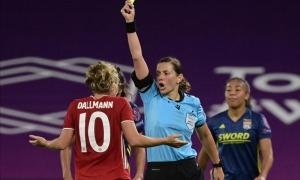 Kateryna Monzul dirigirà el partit entre Andorra i Anglaterra. Foto: Twitter