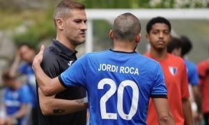 Albert Lopo va debutar ahir. Foto: Interescaldes.com