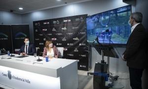 The Group Ironman va presentar ahir les dues proves que tindrà Andorra la Vella. Foto: Comú d'Andorra la Vella / Tony Lara
