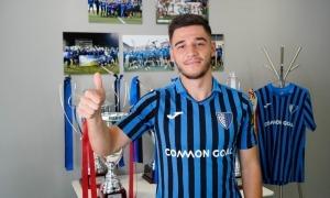 Besjan Bërnaca, més conegut com a 'Besi', nou jugador de l'Inter Club Escaldes. Foto: Interescaldes.com