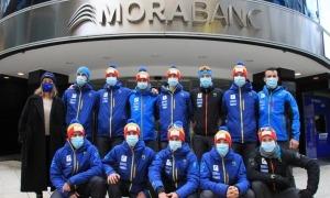 L'equip de l'esquí de muntanya de la FAM comptarà amb el retorn de Xavi Areny. Foto: FAM