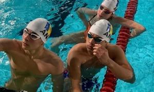 Els nedadors de la FAN, a Terrassa. Foto: FAN