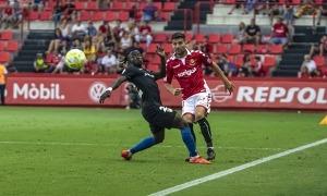 'Musa' Jr., actualment a la Ponferradina, va destacar el 2019 contra el Nàstic. Foto: Gimnàstic Tarragona