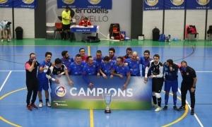 El Sideco FC Encamp va tornar a conquerir la Supercopa d'Andorra de futbol sala. Foto: FAF