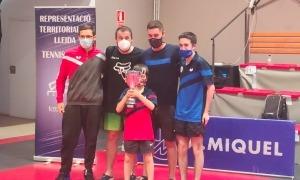 El Club Tennis Taula Valls del Nord, campions. Foto: Club Tennis Taula Valls del Nord
