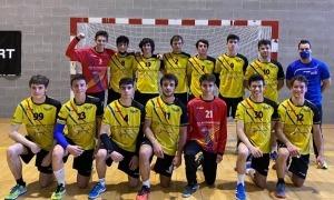 El CE Serradells juvenil assoleix un títol. Foto: Twitter