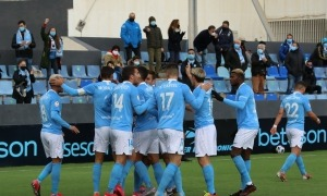 L'UD Ibiza-Eivissa, el primer rival de l'FC Andorra, a la segona fase. Foto: Twitter UD Ibiza-Eivissa