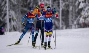Irineu Esteve va tancar el curs a la Copa del Món disputada a Engadin. Foto: Nordic Focus