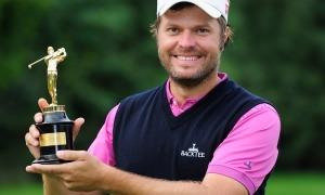 José Manuel Lara quan va guanyar el 2010 l'Obert d'Austràlia de golf. Foto: Twitter
