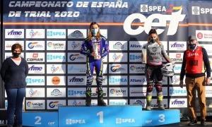 Laia Pi, campiona d'Espanya de trial. Foto: Joan Carles Vázquez / RFME