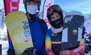 Maeva Estévez amb Mario da Cruz. Foto: FAE