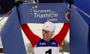 Pável Andréiev, vigent campió del món i d'Europa, competirà a Naturlàndia. Foto: Europe Triathlon