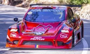 Raül Ferré, patrocinat per CISA Immobiliària, al volant de l'Speed Car. Foto: Fotoesport