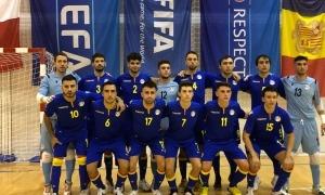 La selecció, amb quatre debutants, va empatar en dos partits amistosos a Malta. Foto: Twitter FAF
