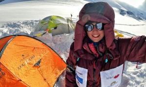 Stefi Troguet cancel·la l'expedició. Foto: Stefi Troguet