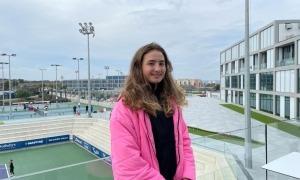 Vicky, a l'Academia Rafa Nadal. Foto: Joan Jiménez