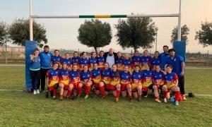El VPC Andorra femení va debutar amb victòria al terreny de joc de l'INEF Lleida. Foto: VPC Andorra