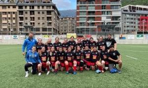 El VPC femení, a l'Estadi Nacional. Foto: VPC Andorra