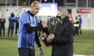 L'Inter Club Escaldes assoleix el triplet amb el títol de la Supercopa d'Andorra.Foto: Facundo Santana