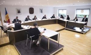 Un moment del consell de comú d'Andorra la Vella celebrat ahir.