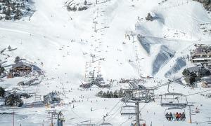 Una imatge d'arxiu de les pistes d'esquí de Grandvalira.