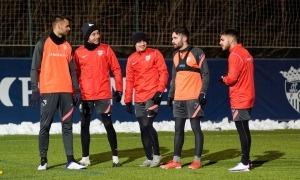 L'FC Andorra va tornar ahir als entrenaments. Foto: FC Andorra