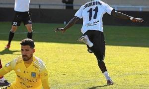Zourdine Thior, nou jugador de l'FCA. Foto: Twitter