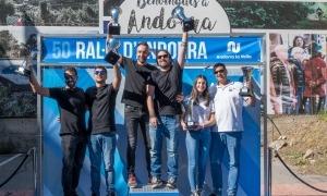 El Ral·li d'Andorra va celebrar 50 anys en una edició amb una participació de 78 equips. Foto: Josep Maria Montaner