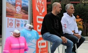 L'OTSO 25K es va presentar ahir a la plaça dels Arínsols d'Encamp. Foto: Comú d'Encamp