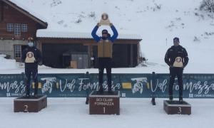 Esteve ja ocupa el lideratge de la general de Copa d'Europa d'esquí de fons. Foto: FAE